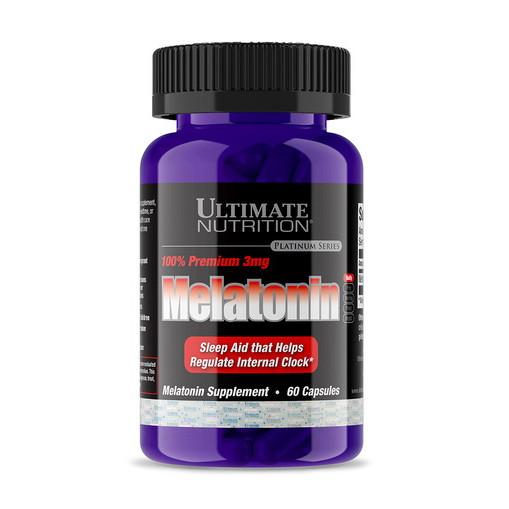 Мелатонин Ultimate Nutrition Melatonin (60 капс) ультимейт нутришн