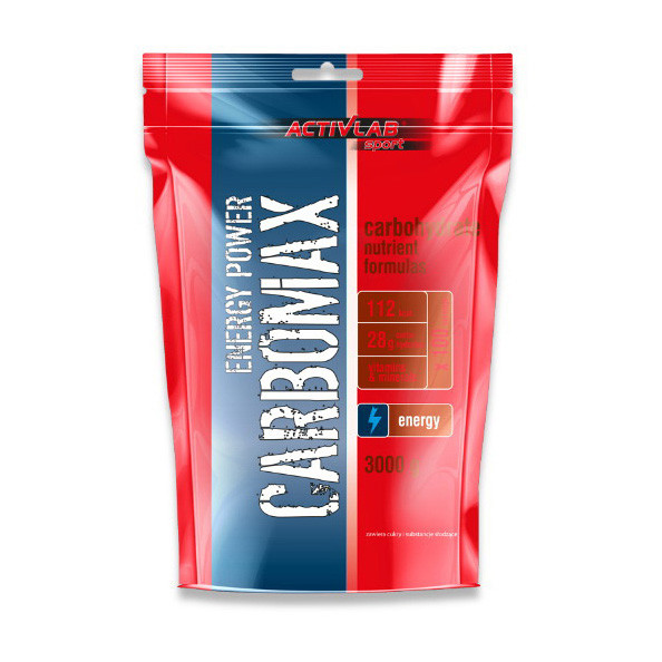 Энергетик карбо углеводы Activlab Carbomax energy power (3 кг) активлаб black currant