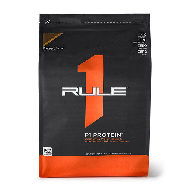 Сывороточный протеин изолят R1 (Rule One) рул 1 (4.45 кг) рул 1 chocolate fudge