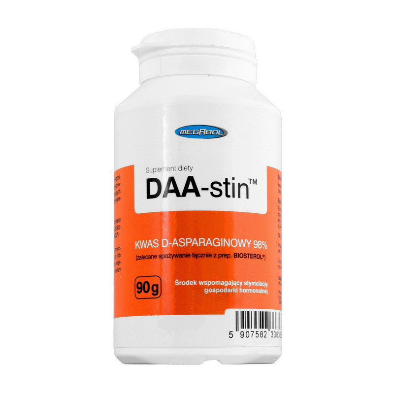 D-аспарагиновая кислота Megabol DAA-stin (90 г) мегабол