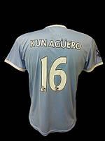 Футбольная футболка мужская Kun Aguero ManCity