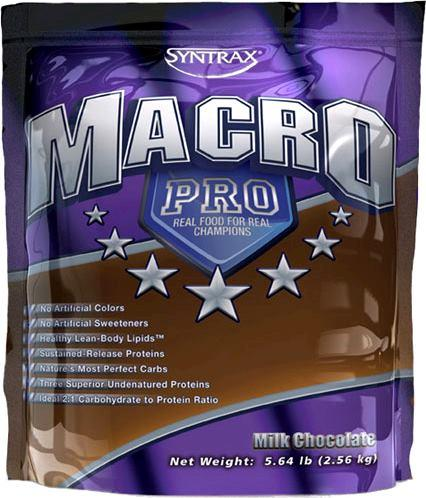 Купити для набору маси Syntrax Macro Pro (2.53 кг) синтракс макро про milk chocolate