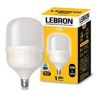 LED лампа LEBRON L-А100, 30W, Е27, 4100K, 2550Lm, High Power