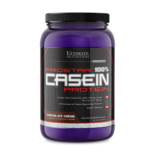 Казеин Ultimate Nutrition Prostar 100% Casein Protein (907 г) ультимейт нутришн клубника
