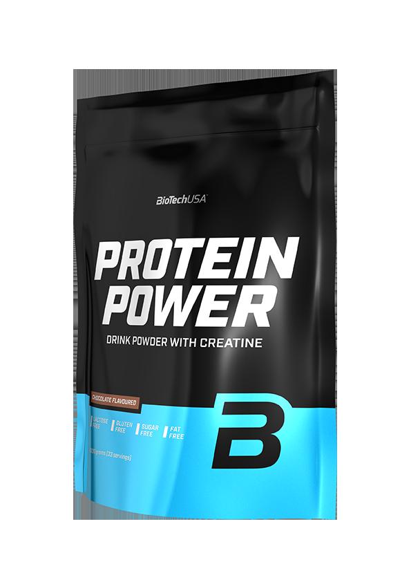 Комплексный протеин BioTech Protein Power (1000 г) биотеч повер шоколад