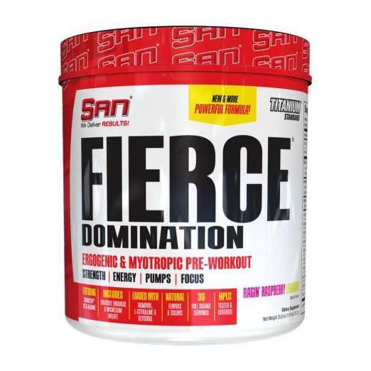 Предтреник SAN Fierce Domination (243,9 г) сан furious fruit punch