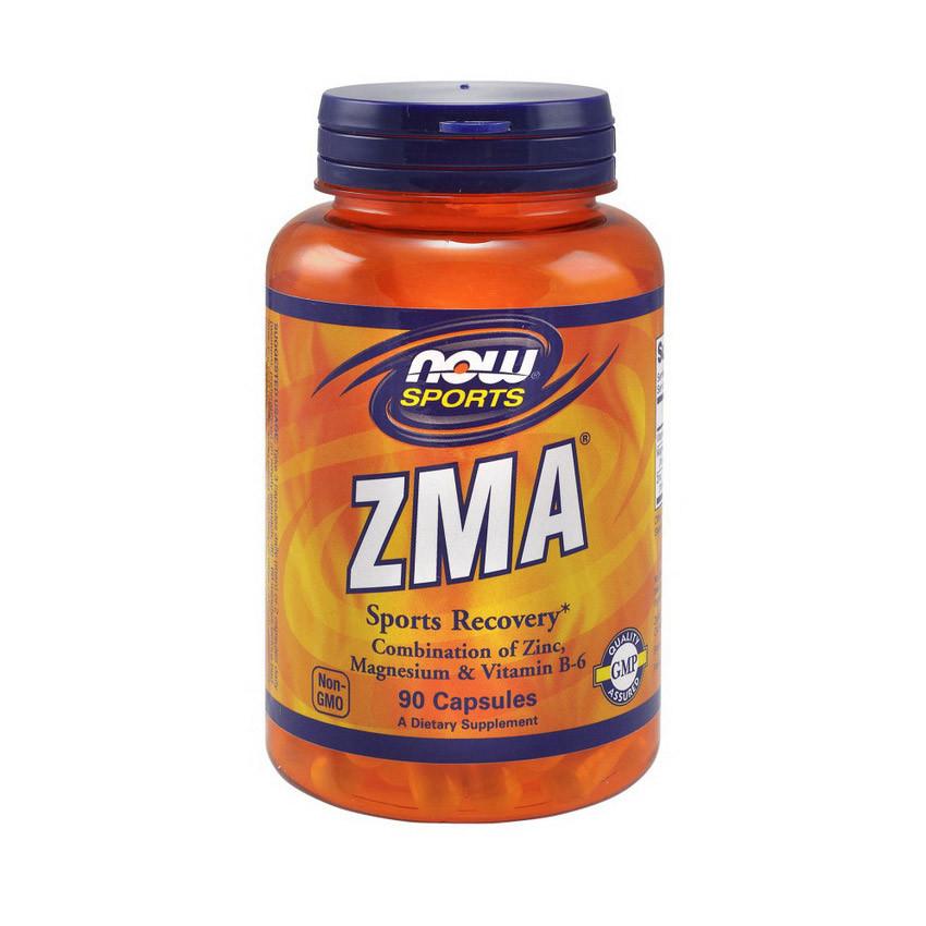Бустер тестостерона Now Foods ZMA (90 капс) зма нау фудс