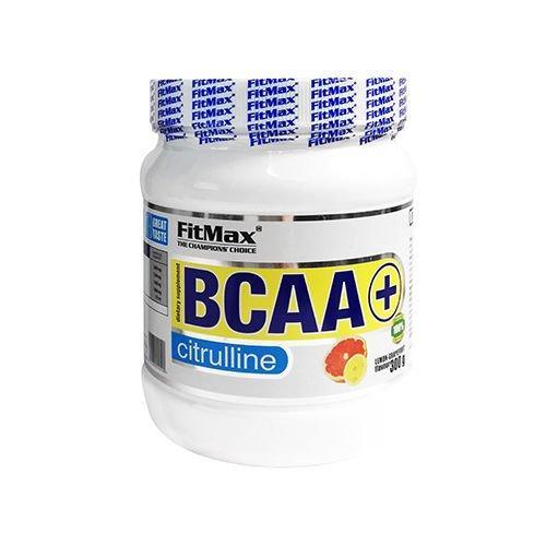 БЦАА FitMax BCAA + Citrulline (300 г) з глютаміном фитмакс lemon-grapefruit