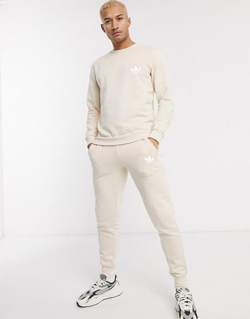 Спортивный костюм мужской Adidas (Адидас) Бежевый