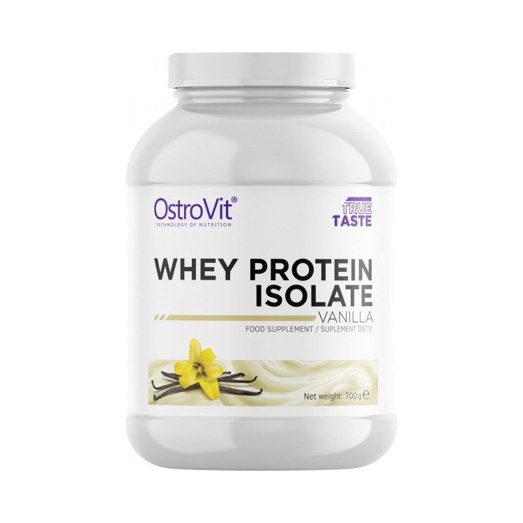 Сывороточный протеин изолят OstroVit Whey Protein Isolate (700 г) островит вей vanilla