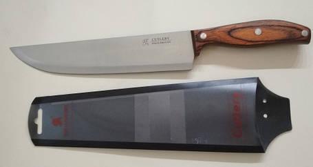 Нож коричневый премиум класс СО4-801 арт. 822-5-34 (33 см), фото 2