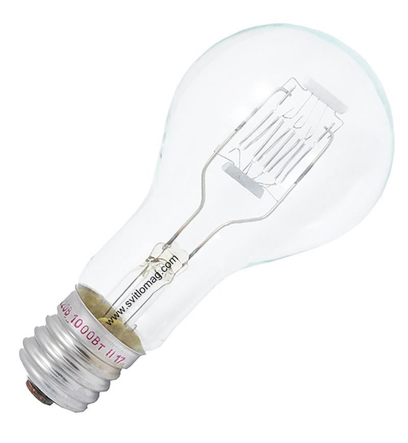 Лампа накаливания прожекторная ПЖ 220-1000-2 E40/45