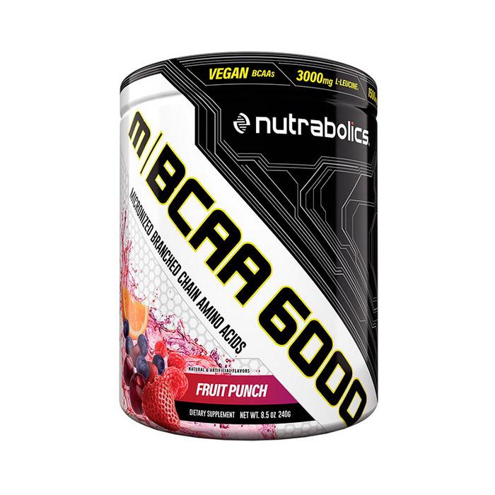 БЦАА NutraBolics  M BCAA 6000 (240 г) нутраболик fruit punch