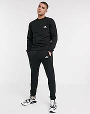 Спортивний костюм жіночий Adidas (Адідас) Чорний, фото 2