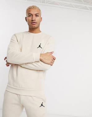 Спортивный костюм мужской Jordan (Джордан) Бежевый, фото 2