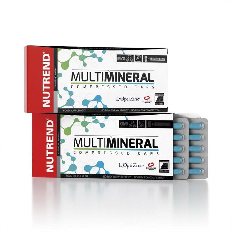 Минеральный комплекс Nutrend MultiMineral (60 капс) нутренд