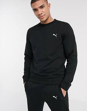 Спортивный костюм мужской Puma (Пума) Черный, фото 2