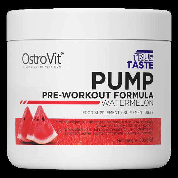 Предтреник OstroVit PUMP Pre-Workout Formula (300 г) островит памп watermelon
