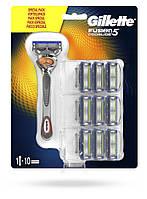 Станок для бритья Gillette ProGlide Flexball + 10 сменных лезвий