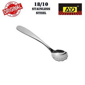 """Ложка для сахара """"Premium"""" AYD (полированная нержавеющая сталь 18/10, 6 шт. в упаковке), арт. 312019"""
