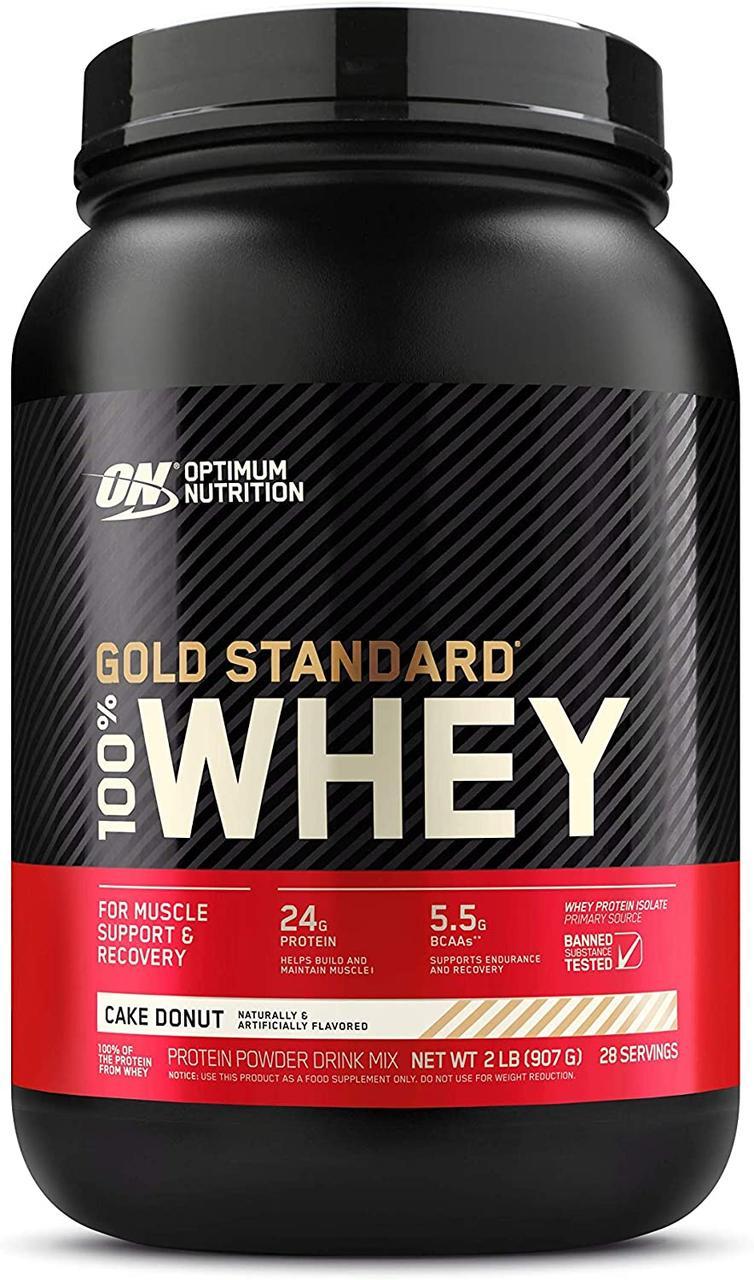 Сывороточный протеин изолят Optimum Nutrition 100% Whey Gold Standard (0,9 кг) оптимум вей голд стандарт  key