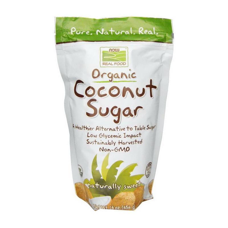 Кокосовый сахар Now Foods Coconut Sugar (454 г) нау фудс