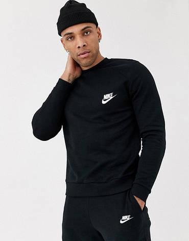 Спортивний костюм чоловічий Nike (Найк) Чорний, фото 2