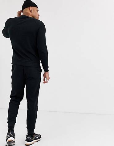 Спортивний костюм чоловічий The North Face (Норт Фейс) Чорний, фото 2