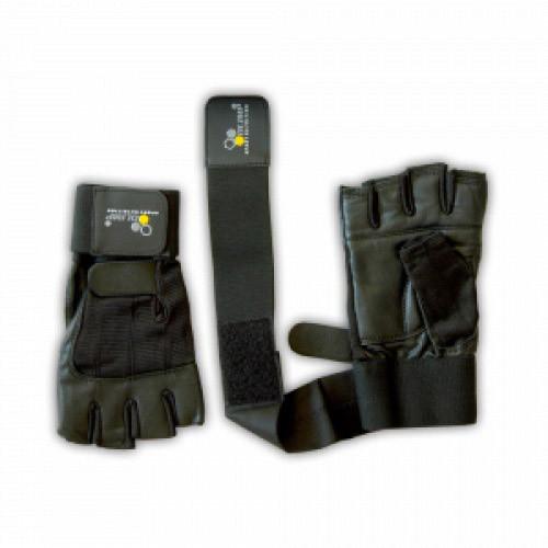 Перчатки для фитнеса и тяжелой атлетики OLIMP Hardcore Competition Wrist Wrap Размер  XXL