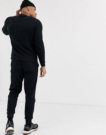 Спортивний костюм чоловічий Under Armour (Андер Армор) Чорний, фото 2