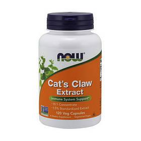 Кошачий коготь экстракт Now Foods Cat`s Claw Extract (120 капс) нау фудс