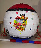 Пиньята - шар с сюрпризом Щенячий патруль 50 см, фото 2