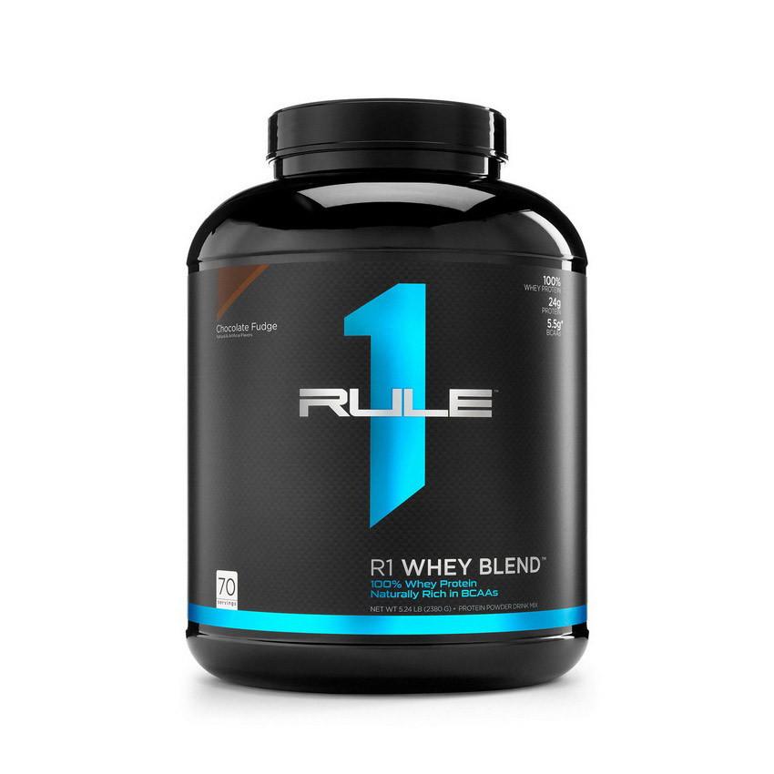 Сывороточный протеин концентрат R1 (Rule One) Whey Blend (2,38 кг) рул 1 ван strawberry cream