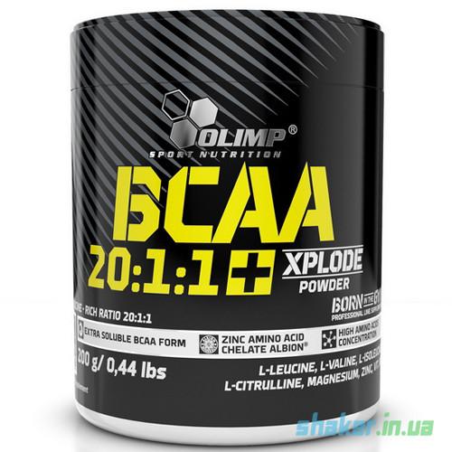 БЦАА Olimp BCAA 20:1:1 Xplode Powder (200 г) олимп иксплод xplosion cola
