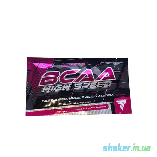 БЦАА TREC nutrition BCAA high speed (10 г) трек нутришн cactus