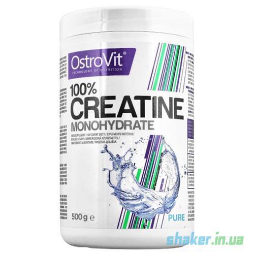 Креатин моногидрат OstroVit Creatine Monohydrate (500 г) островит unflavored