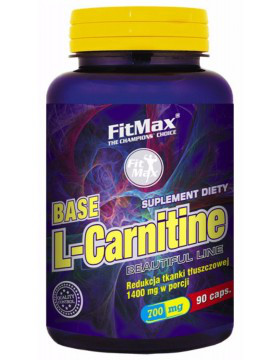 Л-карнитин FitMax Base L-Carnitine 700 mg (90 капс) фитмакс