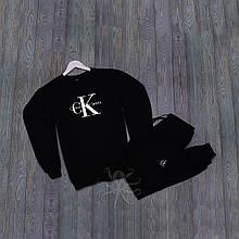 Спортивний костюм реглан чорний