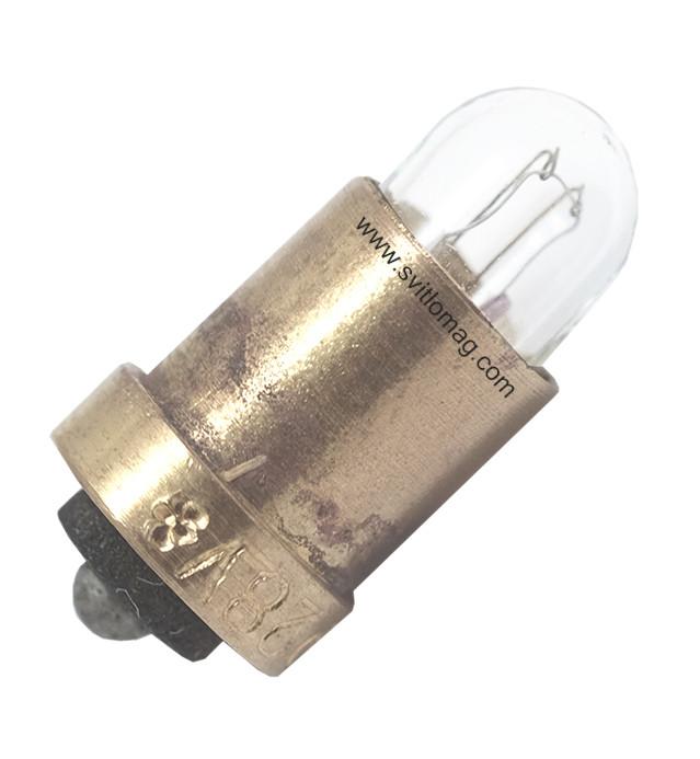 Лампа накаливания самолетная СМ 28-0,05-1 S6s/10 латунь