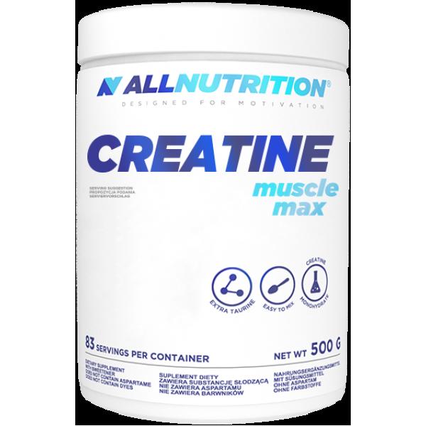 Креатин моногидрат AllNutrition Creatine Muscle Max - 500g Pure алл нутришн