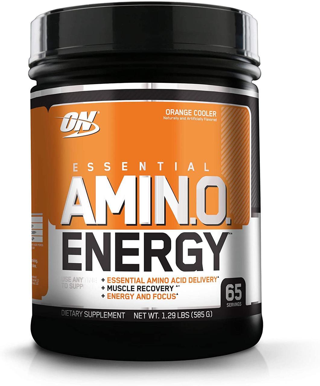 Комплекс аминокислот Optimum Nutrition Amino Energy (585 г) оптимум амино энерджи orange cooler