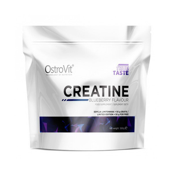 Креатин моногидрат OstroVit Creatine Monohydrate (550 г) островит blueberry