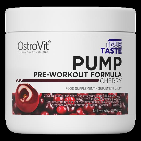 Предтреник OstroVit PUMP Pre-Workout Formula (300 г) островит памп cherry