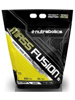 Гейнер для набора массы NutraBolics Mass Fusion 2.0 (7.26 кг) нутраболик масс фьюжн cookies & cream