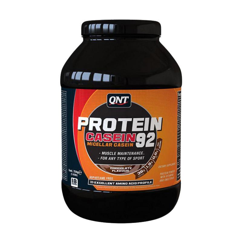 Казеїн QNT Protein Casein 92 (750 г) ваніль