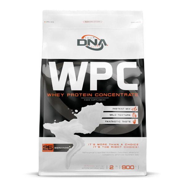 Сироватковий протеїн концентрат DNA Supps WPC (900 г) дна саппс white chocolate