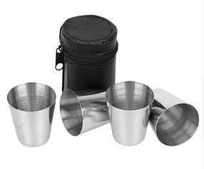 Набор стаканов из нержавеющей стали, арт. 830-17А-4
