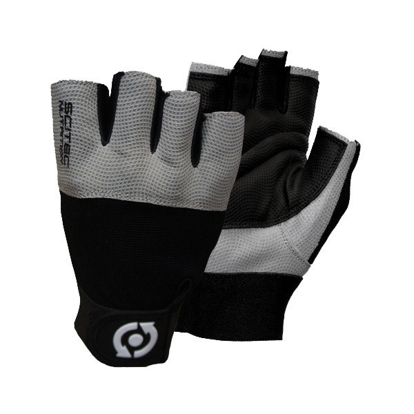 Перчатки Scitec Nutrition Grey Style (размер L)