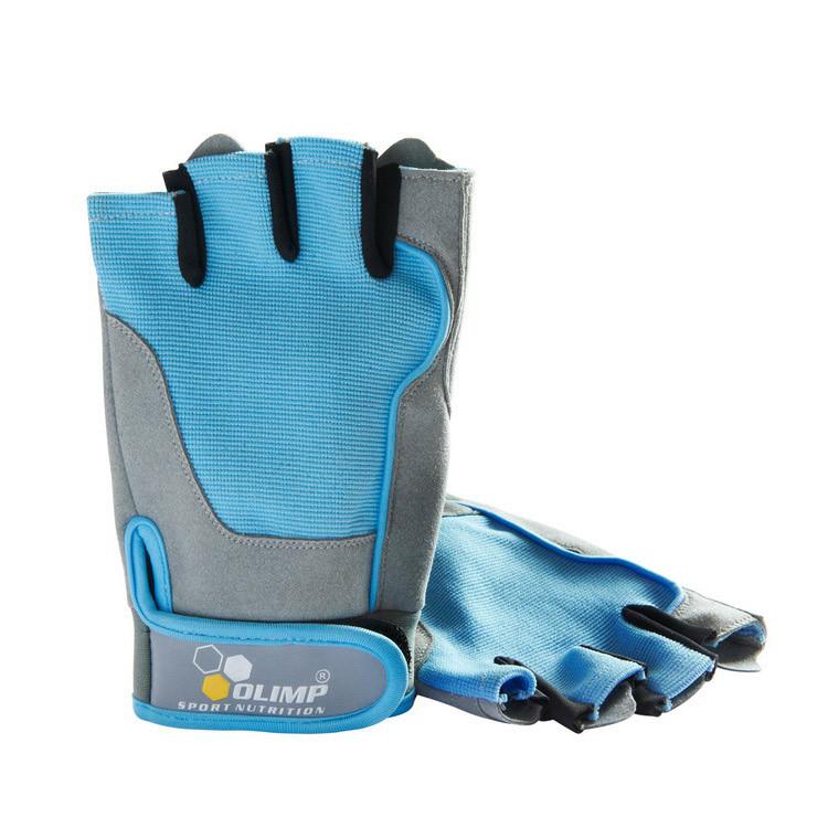Перчатки для фитнеса Olimp Fitness One олимп blue