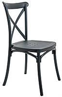 Стул кухонный-обеденный пластиковый I SIT Furniture TRIESTR Черный FR00302, КОД: 1921087